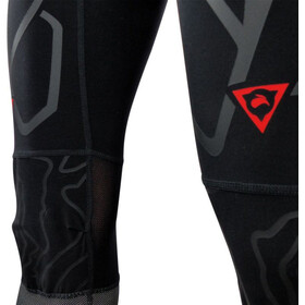 KiWAMi Equilibrium Trail 3/4 Pants Unisex black/red